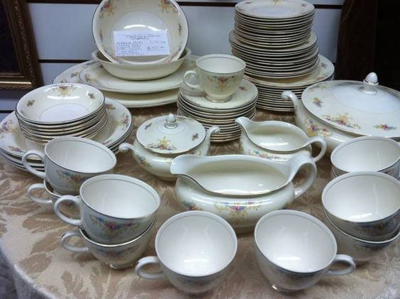 Nautilus China Set. Come by our store to purchase.