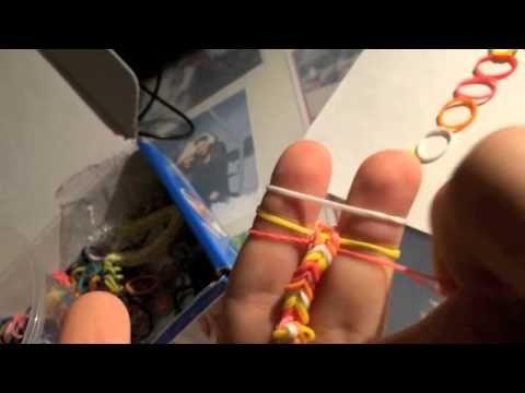 Bracelet lastique youtube tuto bracelet lastique - Comment faire des bracelets en elastique ...