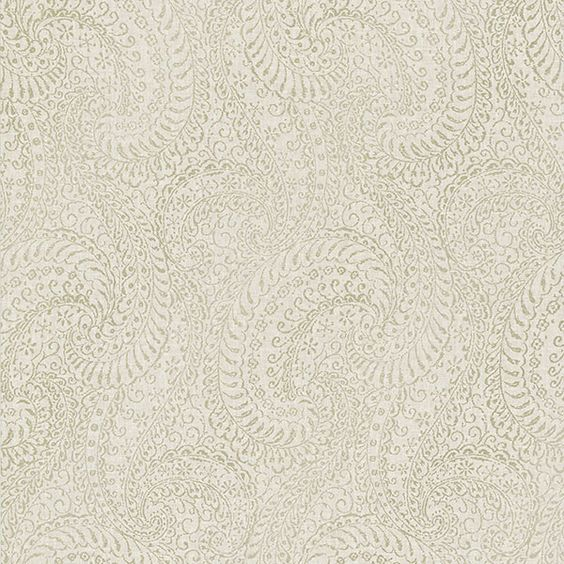 Daraxa Taupe Paisley Wallpaper from the Alhambra Collection by Brewster Home Fashions