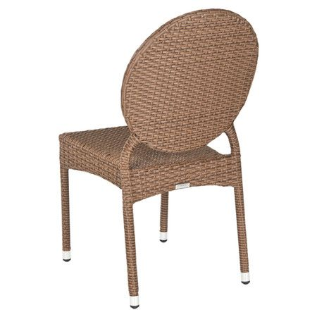 Ellis Wicker Indoor/Outdoor Side Chair (Set of 2) Joss & Main