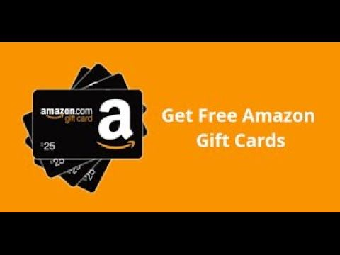 Amazon Gift Card Free And New Give Amazon Code Winning The Best Yes 100 Youtube Amazon Gift Card Free Free Amazon Products Amazon Gift Cards