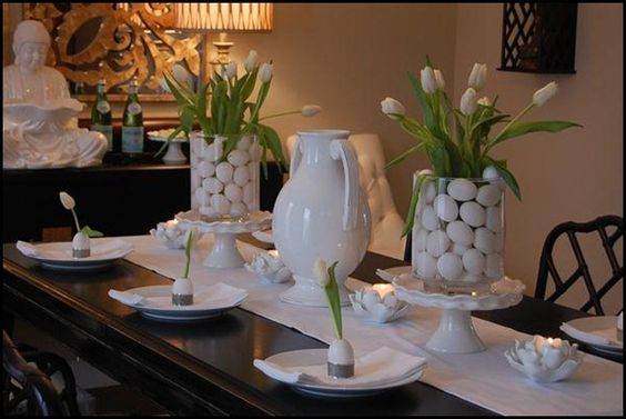 all time fav white Easter table:
