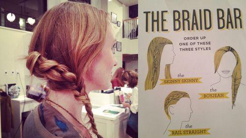 Madewell + Birchbox Braid-a-Palooza at Fashion's Night Out #Birchbox