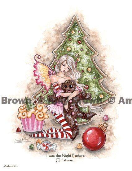 Loving Amy brown Christmas fairies