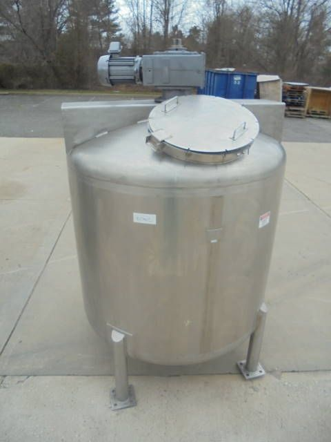1 000 Gallon Allegheny Bradford 316 Stainless Mix Tank Dished Bottom Stainless Steel Tanks Stainless Stainless Steel Alloy