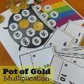 Linked to: deceptivelyeducational.blogspot.com/2014/03/pot-of-gold-multiplication-game.html
