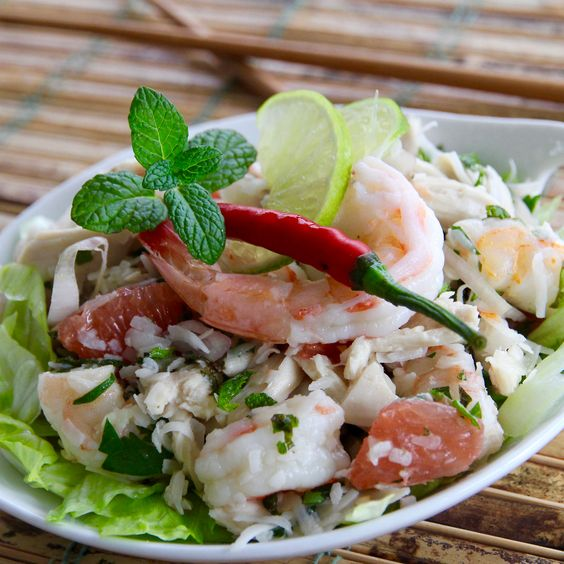 coconut salad shrimp coconut and more thai shrimp chicken shrimp chili ...