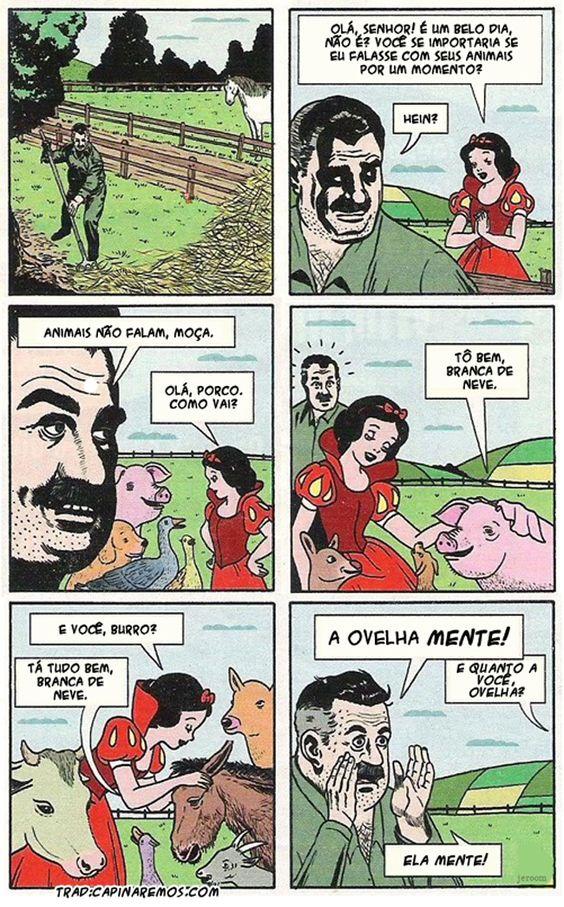 Satirinhas - Quadrinhos, tirinhas, curiosidades e muito mais! - Part 201