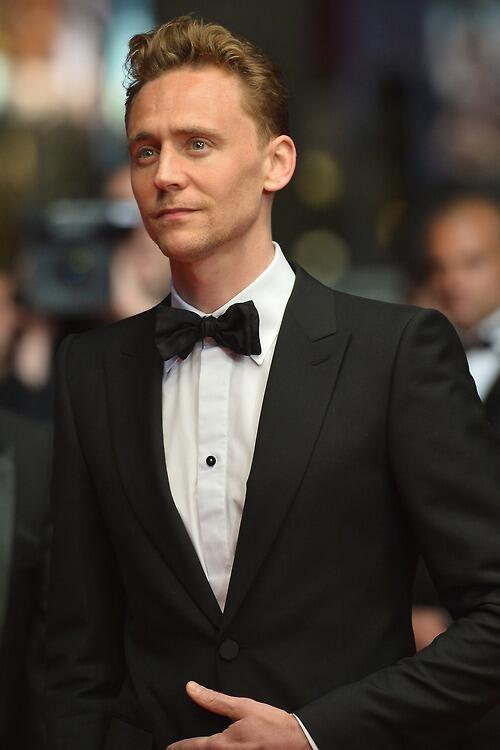 Tom Hiddleston ...