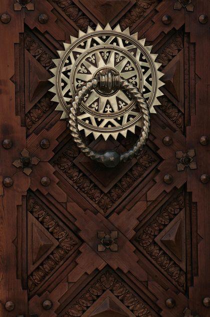 Door and hardware detail
