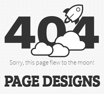 Creative 404 Error Page Designs: 32 Examples #404 #errorpagedesign #webpagedesign