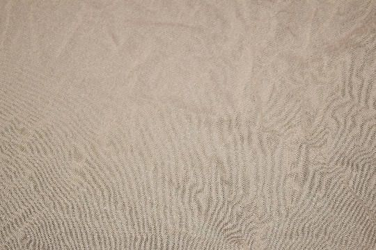Sand Light Beige Mesh Fawn Colored Stretch Mesh Stretchy Lace