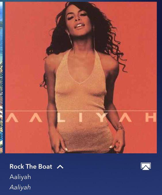 Rock The Boat-Aaliyah