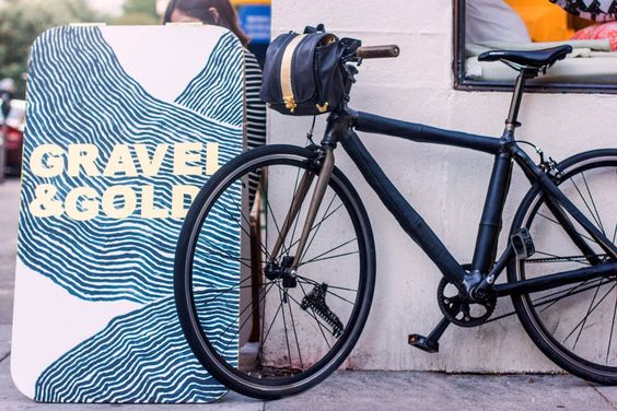 Shop by bike: San Francisco's Gravel and Gold is a gem of a boutique.