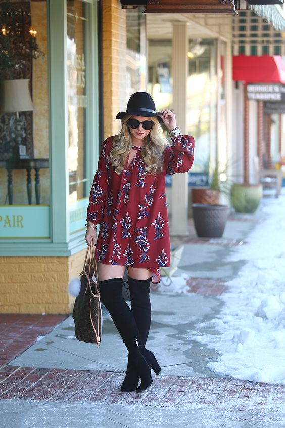 SheIn floral free people dress