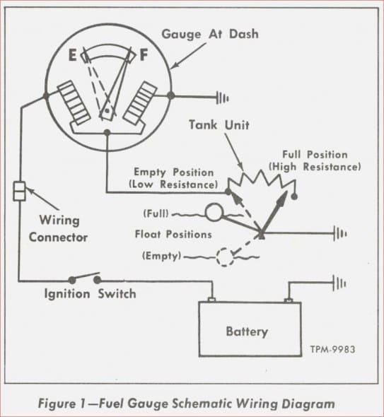 1957 chevy fuel gauge wiring diagram  gauges diagram chevy