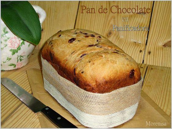 Pan de Chocolate en Panificadora