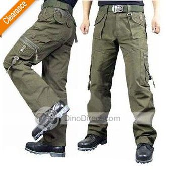 Mens's Cargo pants with tool pockets | Pockets Cargo Loose Mens ...