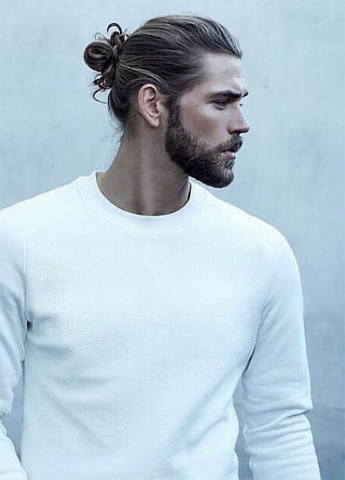 Man Bun Men S Long Hair With Undercut Hairstyles Cool Hairstyles For Men Man Bun Hairstyles Undercut Long Hair