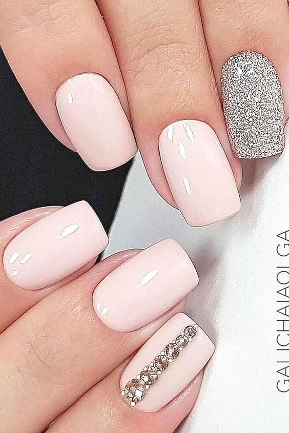 Wedding Nail Art Designs For Brides