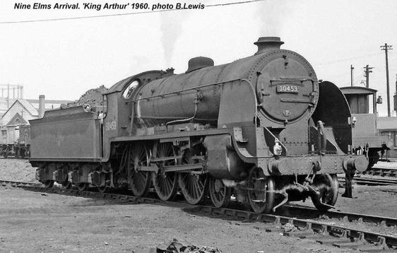 Nine Elms Locomotive Shed - Barry Lewis photos