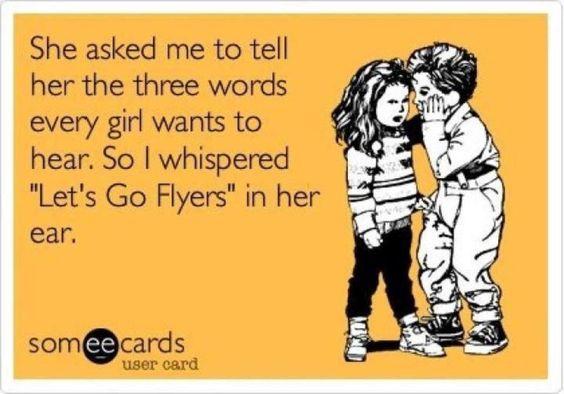 Philadelphia Flyer's, baby!! <3