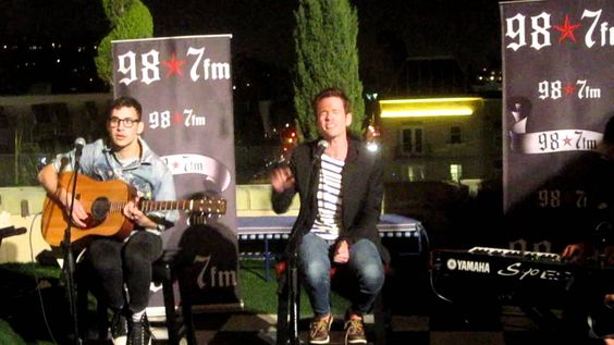 Fun. - The Gambler acoustic @ The Hollywood Tower Penthouse