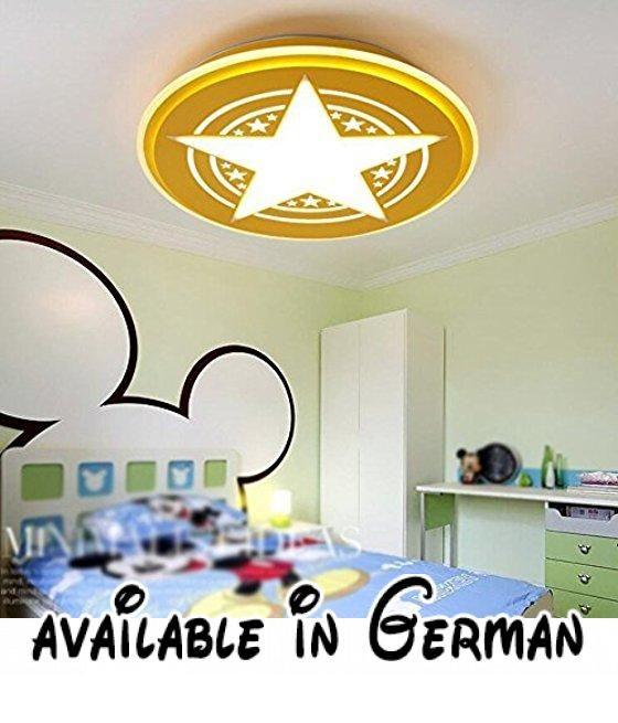 Deckenleuchten-Modernes, minimalistisches Kreative LED Rund - deckenleuchten für schlafzimmer
