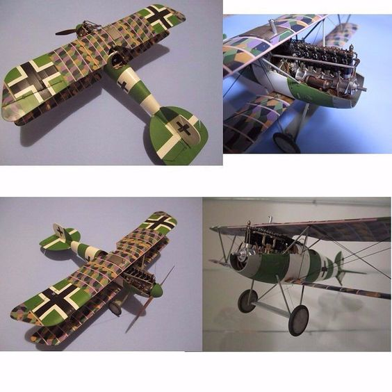 Albatros D. VA 1/32 By:Luis Fragelli From: aprj  #airplane #aeronave #avião #albatros #usinadoskits #aprj #plastimodelismo #plastickit #hobby #passatempo  #tempolivre #udk #miniart