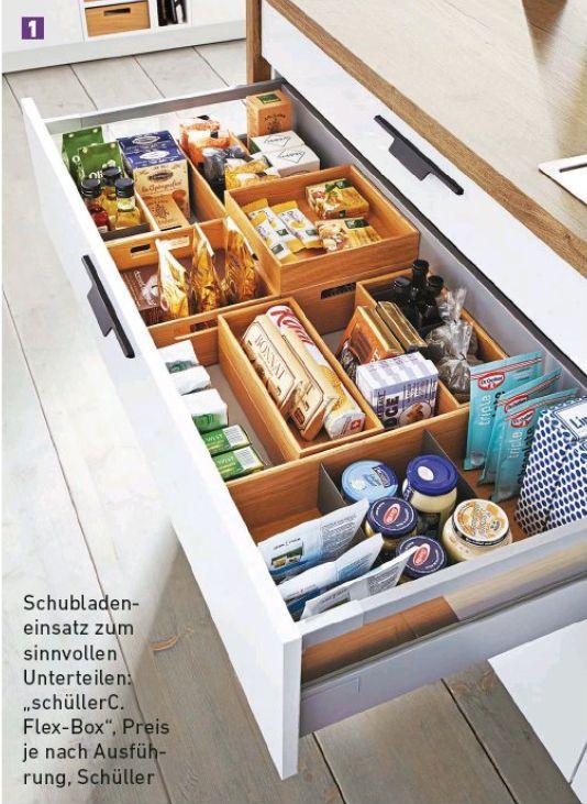 Deep Drawer Organization With Images Clever Kitchen Storage Kitchen Cabinet Storage Diy Kitchen Storage