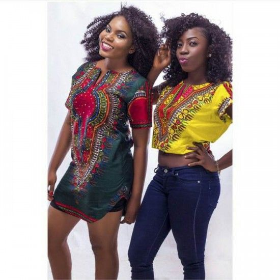 Select a fashion style: the Dashiki style | Photos