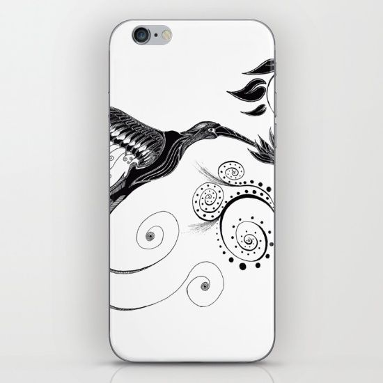 Skins are thin, easy-to-remove, vinyl decals for customizing your device. Skins are made from a patented material that eliminates air bubbles and wrinkles for easy application.