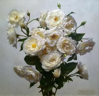 White Roses - Graydon Parrish