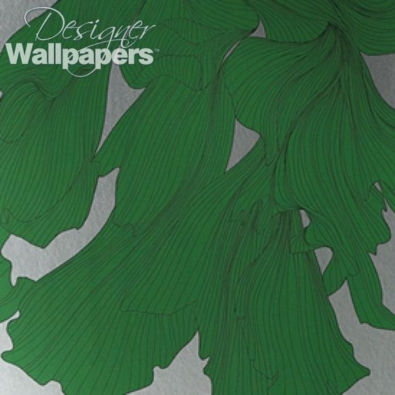 Davidia wallpaper features luscious undulating flower heads inspired by the photography of American pop artist Jim Dine.