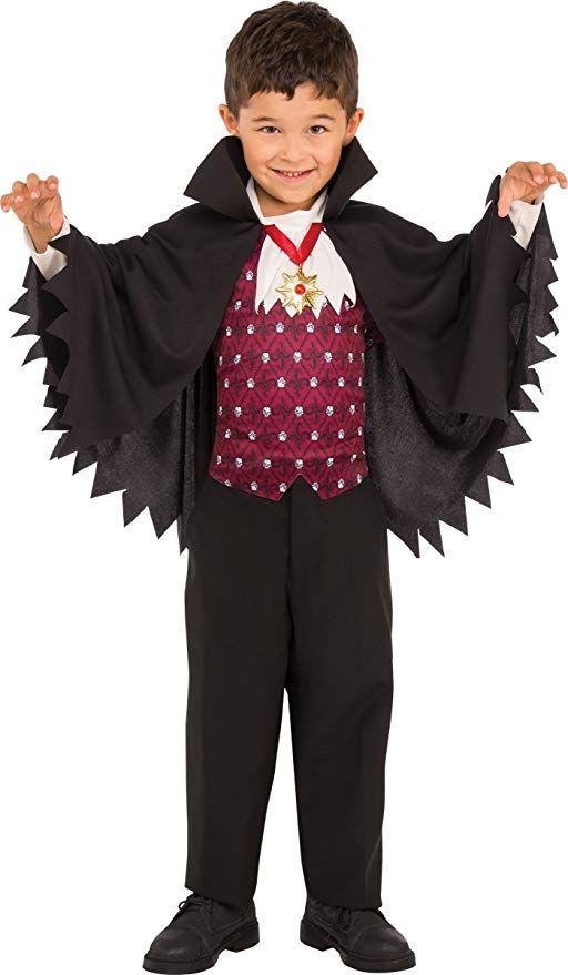 LITTLE VAMPIRE CHILD BOYS FANCY DRESS HALLOWEEN COSTUME