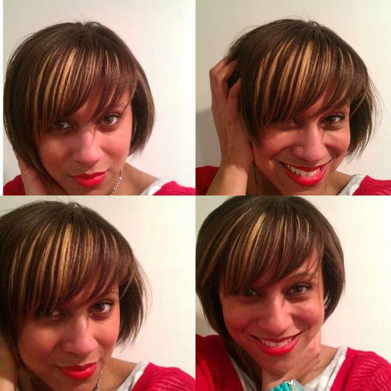 Want shiny hair like this? Courtesy of Amika hair products
