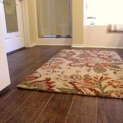 Tile Flooring that looks like wood. Shut up!