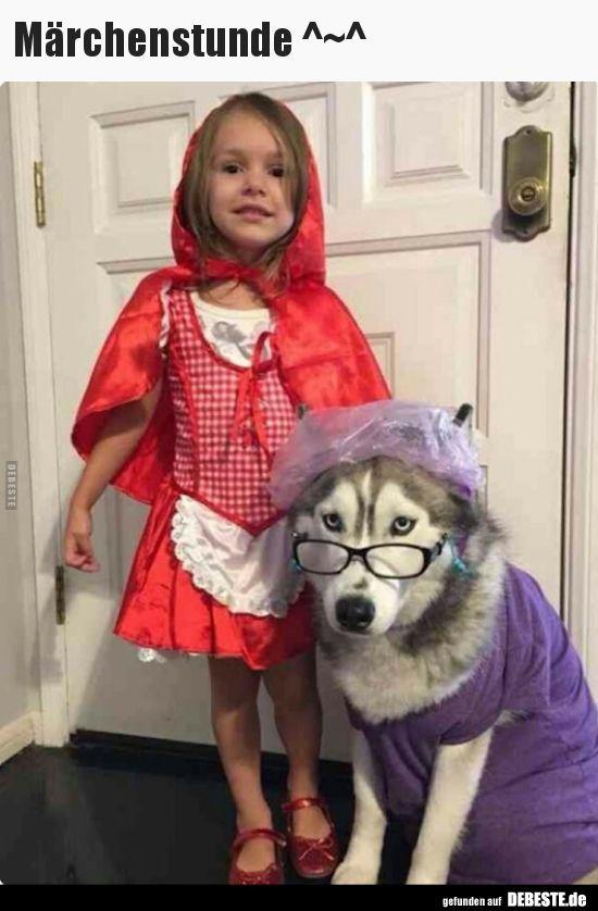 Marchenstunde Lustige Bilder Spruche Witze Echt Lustig Rotkappchen Kostum Selber Machen Rotkappchen Kostum Kostum Hund