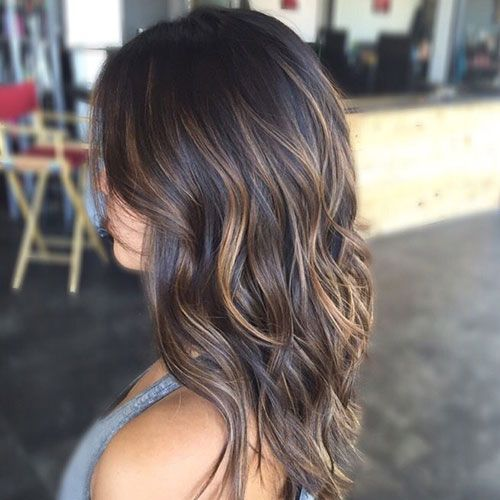65 Best Brown Hair With Highlights Ideas Dark Medium Light Colors Medium Length Hair Styles Medium Hair Styles Brown Hair Balayage