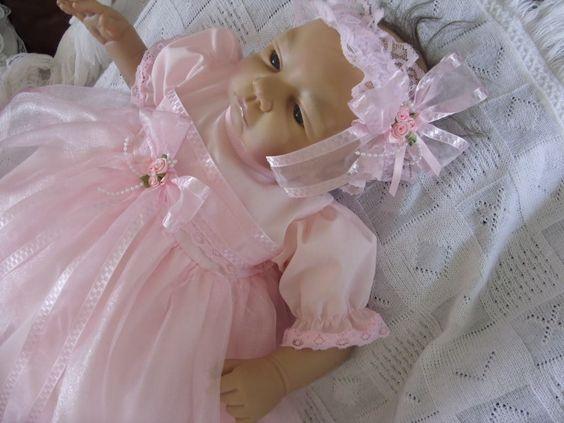 Dream Pasgeboren Baby Meisjes Dolls Dress Set 17 19 Reborn