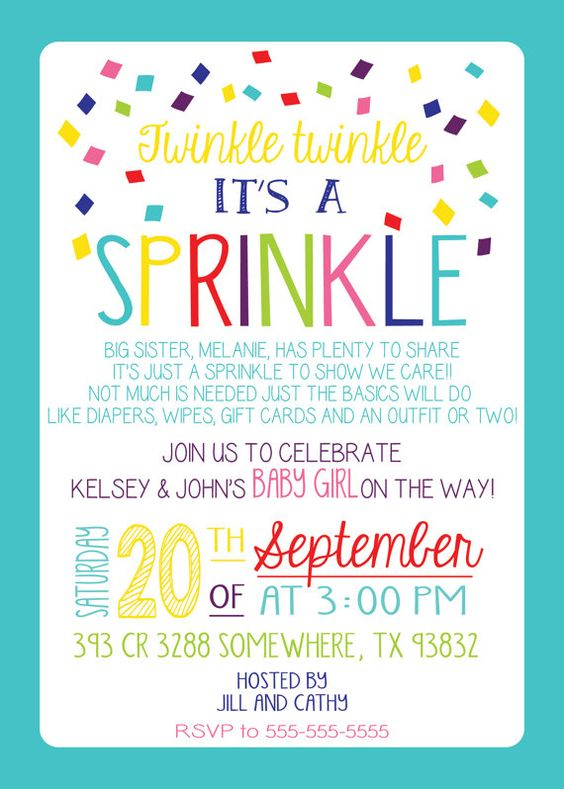 Surprise Birthday Sprinkles And Colors On Pinterest