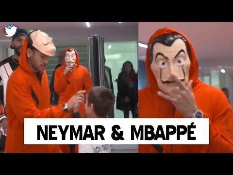 Neymar Halloween 2020 Neymar And Mbappe Halloween Costume 2018 Robbers Of Casa Neymar