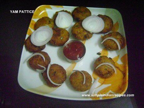 Yam Pattice - Suran Vada - ChennaKilangu Vadai   Simple Indian Recipes