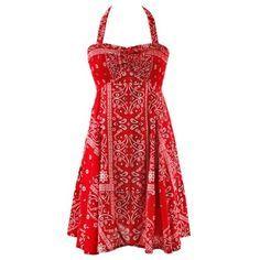 Red Bandana Wedding dresses - Google Search  Dresses I Like ...