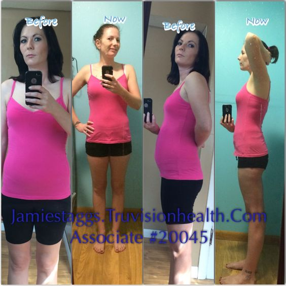 My Personal 2 Month #weightloss Results Using #truvision