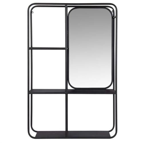 Etagere Bicolore Et Miroir Maisons Du Monde En 2020 Miroir Maison Du Monde Rayonnage Miroir