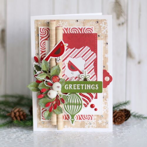 Create this beautiful Christmas card by Anya Lunchenko with the \