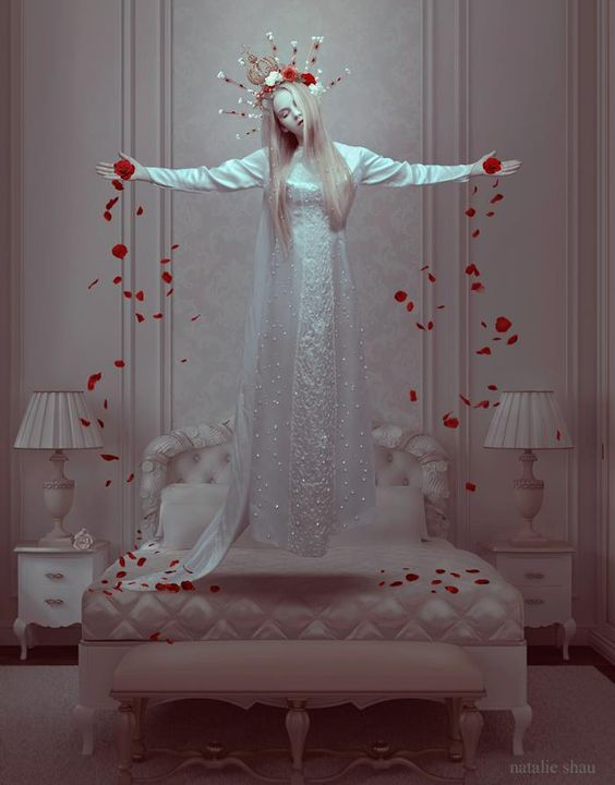 ART by Natalie Shau. Natalie Shau is mixed media artist and photographer of Russian and Kazakhstan descent