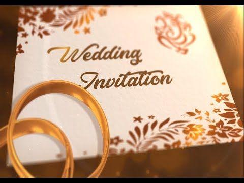 Whatsapp Wedding Invitation Latest 2018 Wedding Invitation Whatsapp Invitation 1 Youtub Wedding Invitations Invitation Examples Wedding Invitation Video