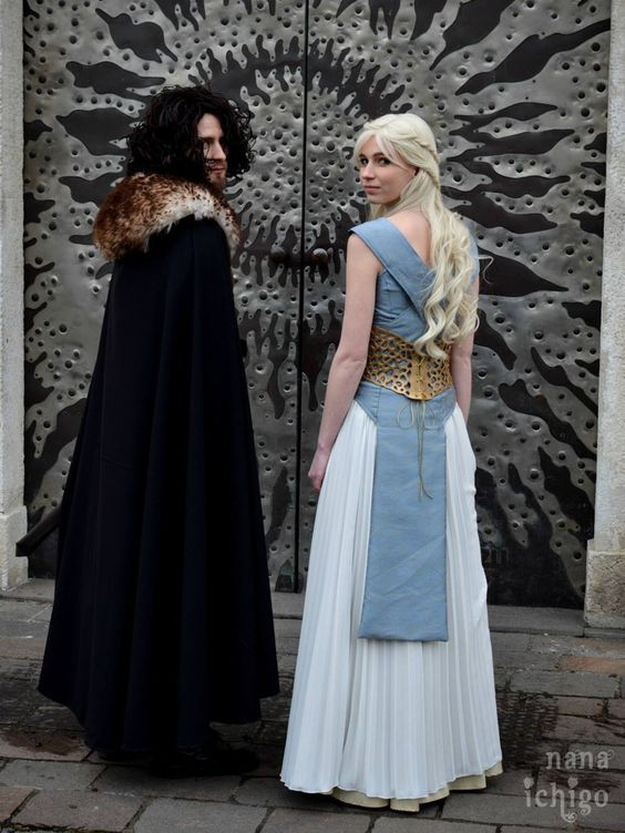 Daenerys Tagaryen and Jon Snow - Game of Thrones 2 by jul-ya